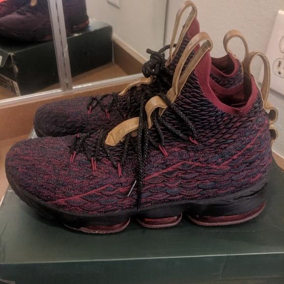 huge discount 67715 d9f06 Nike LeBron XV 15 Atomic Basketball Shoes equality